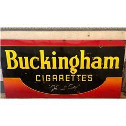 BUCKINGHAM CIGARETTES SSP 4' X 8 'SIGN
