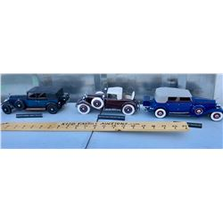 GR OF 15, FRANKLIN MINT SCALE MODEL VEHICLES