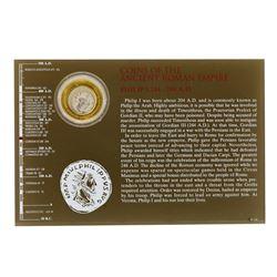 244-249 A.D. Ancient Roman Empire Philip I Coin
