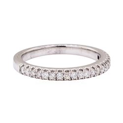 14KT White Gold 0.31 ctw Diamond Band