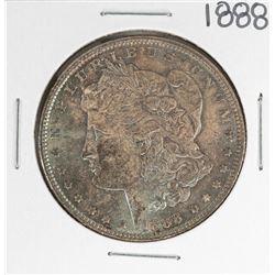 1888 $1 Morgan Silver Dollar Coin Amazing Toning