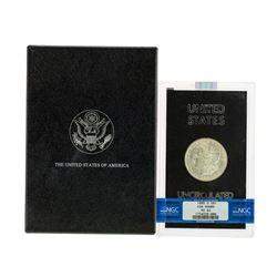 1885-O $1 Morgan Silver Dollar Coin NGC MS63 GSA Hoard w/ Box