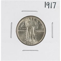1917 Type 2 Standing Liberty Quarter Coin