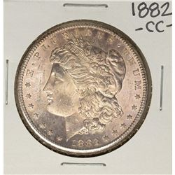 1882-CC $1 Morgan Silver Dollar Coin