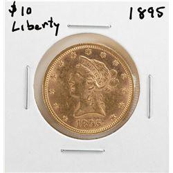 1895 $10 Liberty Head Eagle Gold Coin