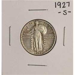 1927-S Standing Liberty Quarter Coin
