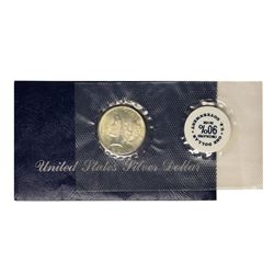 1923 $1 Peace Silver Dollar Coin GSA Soft Pack w/ Envelope & COA