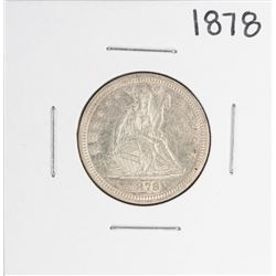 1878 Seated Liberty Quarter Coin