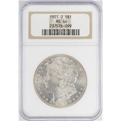 1901-O $1 Morgan Silver Dollar Coin NGC MS64
