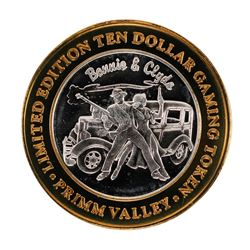 .999 Silver Primm Valley Resort & Casino Primm, NV $10 Limited Edition Gaming To