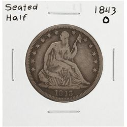 1843-O Seated Liberty Half Dollar Coin