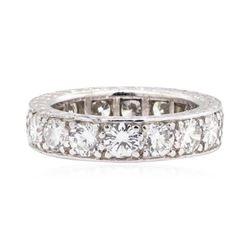 Platinum 3.80 ctw Diamond Eternity Ring