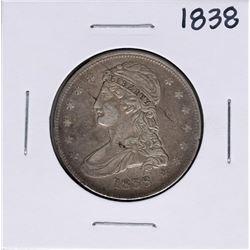 1838 Capped Bust Half Dollar Coin