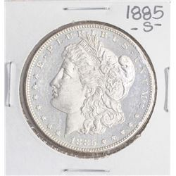 1885-S $1 Morgan Silver Dollar Coin