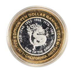 .999 Silver Sam Boyd's California $10 Casino Limited Edition Gaming Token