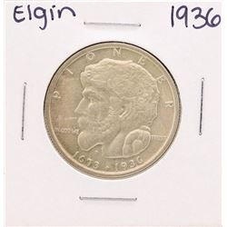 1936 Elgin Commemorative Half Dollar Coin