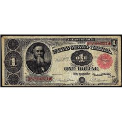 1891 $1 Treasury Note