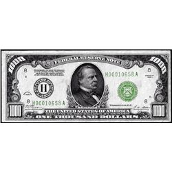 1928 $1,000 Federal Reserve Note St. Louis