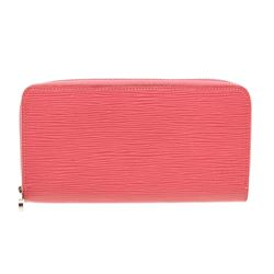 Louis Vuitton Pink Epi Leather Monogram Zippy Wallet