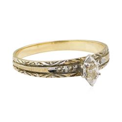 0.15 ctw Diamond Ring - 10KT Yellow Gold