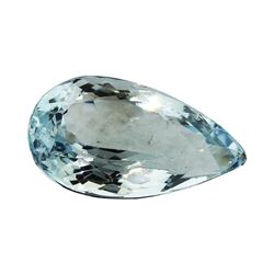 4.67 ct.Natural Pear Cut Aquamarine