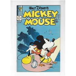 Mickey Mouse Issue #225 by Walt Disney