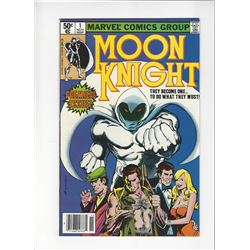Moon Knight Issue #1 by Marvel Comics