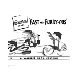 Warner Brothers Hologram Fast and Furryous