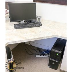 DELL VOSTRO 420 COMPUTER TOWER WITH KEYBOARD,