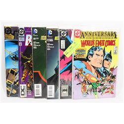 6 COLLECTIBLE BATMAN COMICS