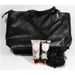 MAKEUP BAG WITH CONTENTS