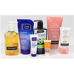BAG OF ASSORTED ACNE TREATMENTS