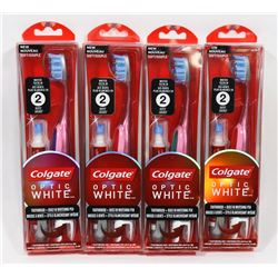 BAG OF COLGATE TOOTHBRUSHES + WHITENING PEN