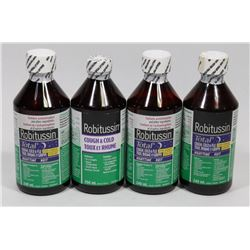 BAG OF ASSORTED ROBITUSSIN COLD MEDICINE