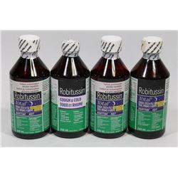 BAG OF ASSORTED ROBITUSSIN COLD MEDICINE