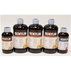 BAG OF BENYLIN COLD MEDICINE
