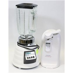 OSTERIZER SUPREME BLENDER AND BLACK & DECKER CAN