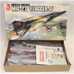 AMT/ERTL MIG-27 'FLOGGER-D' MODEL KIT