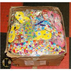 BOX OF BIRTHDAY MASKS