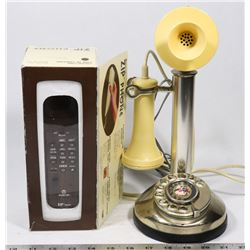 VINTAGE TELEPHONES CANDLE