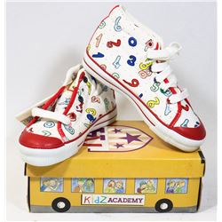 KIDS ACADEMY SCHOOL BUS  SHOES MULTI/BLUE SZ 10