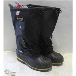 PAIR OF BAFFIN STEEL TOE RUBBER BOOTS SIZE 15