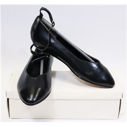 GIRLS BLACK DRESS SHOES SIZE 2