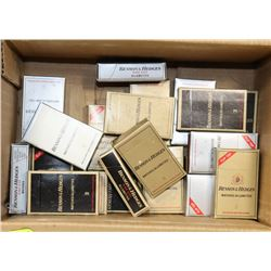 VINTAGE WOODEN MATCH COLLECTION