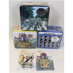 3 BEATLES 2 SIDED PUZZLES AND 2 YELLOW SUBMARINE