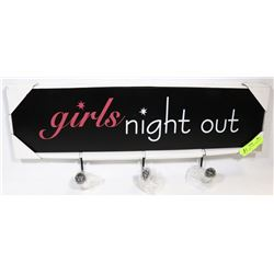 "NEW 'CONCEPTS' ""GIRLS NIGHT OUT"" NOVELTY WALL"