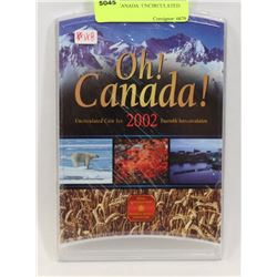2002 OH CANADA  UNCIRCULATED COIN SET
