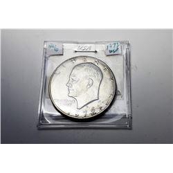 9)  US 1972 EISENHOWER SILVER DOLLAR