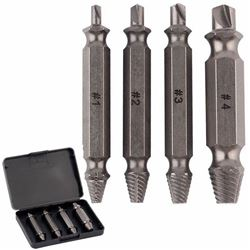 NEW 4PCS SCREW EXTRACTOR BIT SET