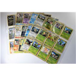 20)  LOT OF 124 POKÉMON COLLECTOR CARDS